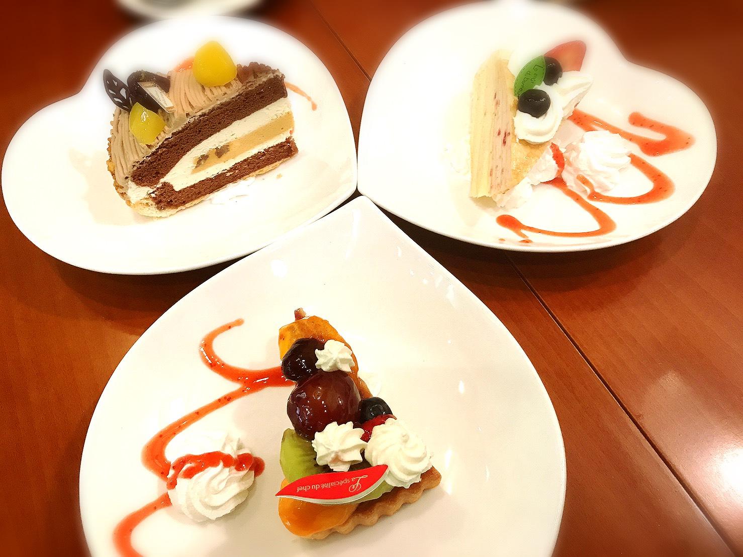 講習会後ケーキ1